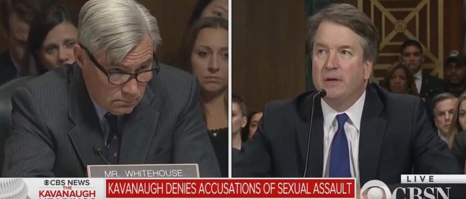 Join the reporters of The Daily Caller News Foundation as they investigate the Devil's Triangle from Supreme Court nominee Brett Kavanaugh's past.(Youtube Screenshot/ The DCNF)