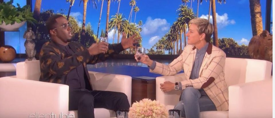 Diddy on Ellen (Photo: YouTube Screenshot)