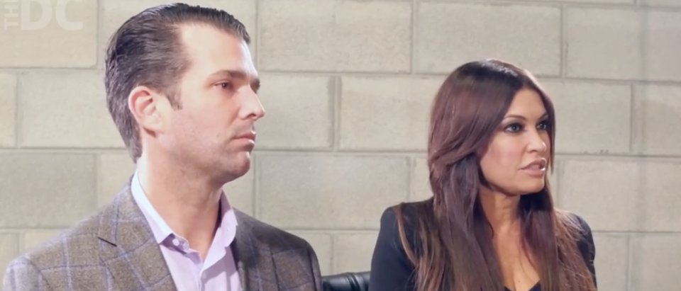 Exclusive Video: Trump Jr., Guilfoyle Talk Elizabeth Warren's Claim To Native American Heritage/ The Daily Caller