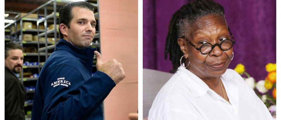 Donald Trump Jr. Whoopi Goldberg (Photo: Getty Images)