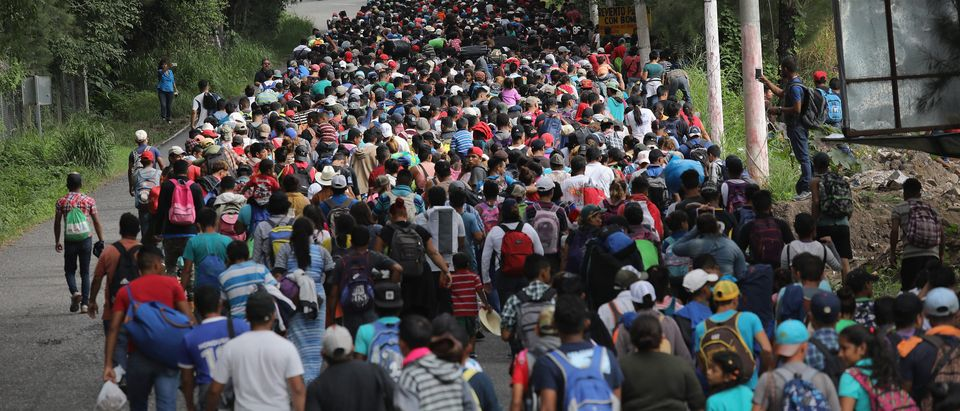 Migrant Caravan Pushes North Into Guatemala