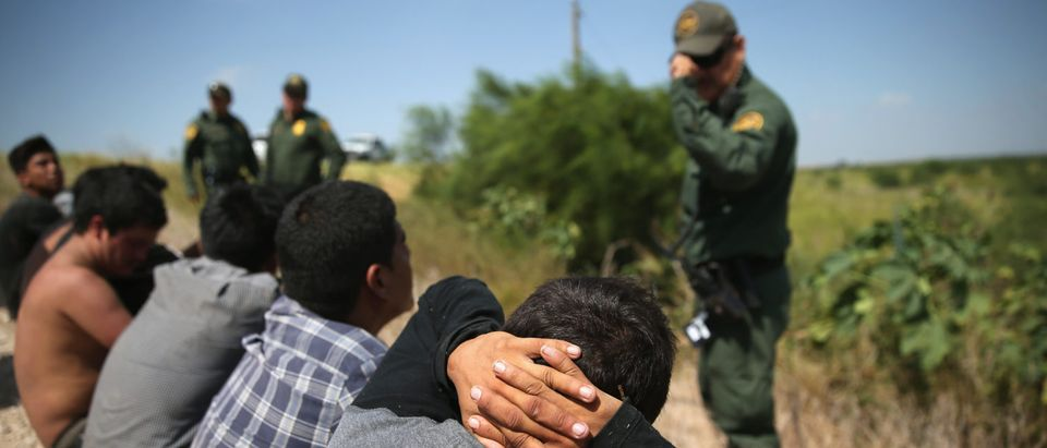 Customs And Border Protection Agents Patrol Near U.S.-Mexico Border