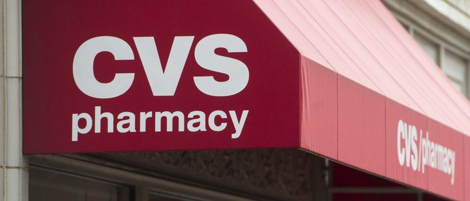 A CVS Pharmacy drug store is seen in Washington, D.C., Dec. 21, 2016. SAUL LOEB/AFP/Getty Images