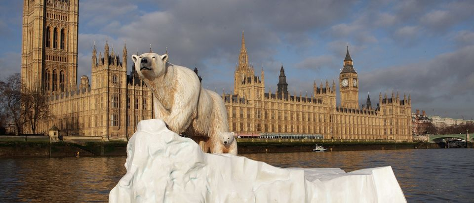 Giant Polar Bear Is Floated Down The Thames