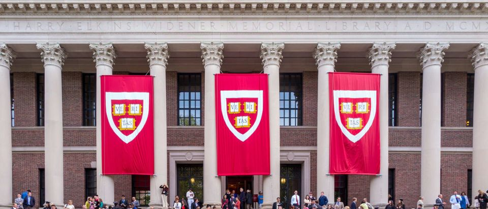 The president of Harvard University remains confident that the school will win a trial.