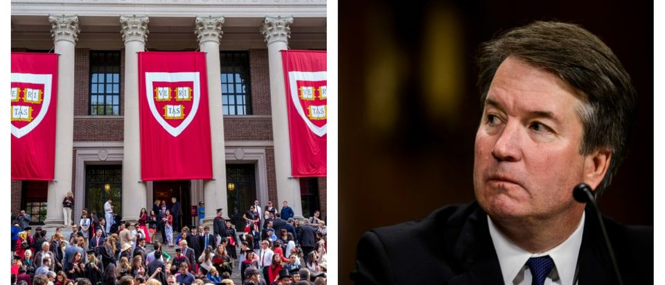 Harvard students tried to keep Brett Kavanaugh off campus by filing sexual harassment claims.