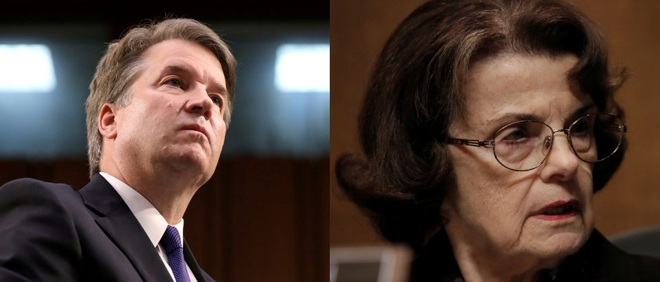 Kavanaugh and Feinstein