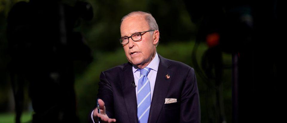 White House economic adviser Kudlow speaks in Washington