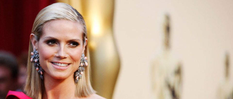 Model and actress Heidi Klum arrives at 81st Academy Awards in Hollywood