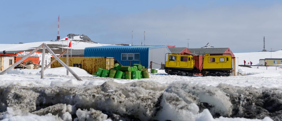 Pictured is a Russian research station. (Shutterstock/Alexey Seafarer)