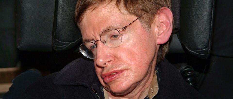 Pictured is scientist Stephen Hawking. (Shutterstock/Koca Vehbi)