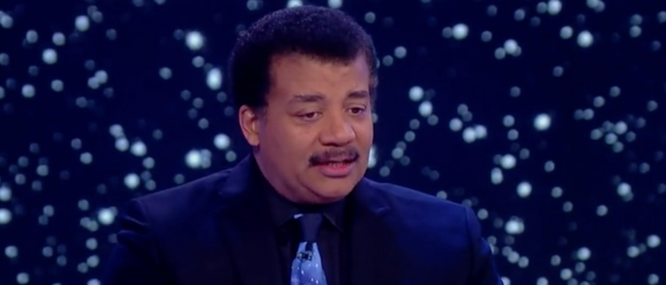 Neil DeGrasse Tyson appears on ABC's 'The View.'/Screenshot