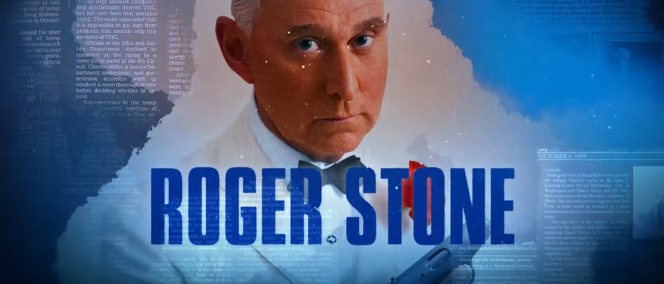 """Get Me Roger Stone"" Trailer/ YouTube Screenshot"