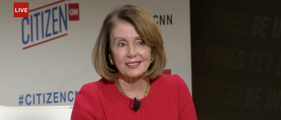 Nancy Pelosi (CNN Screenshot: October 22, 2018)