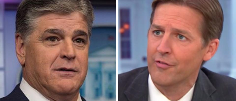 Sean Hannity (Nicholas Kamm-AFP-Getty Images) Ben Sasse (YouTube screengrab)