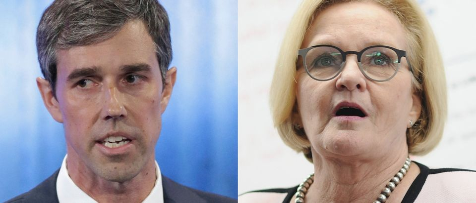 Two Democratic Senate candidates raised millions in 2018. Tom Reel-Pool/Getty Images and Michael Thomas/Getty Images