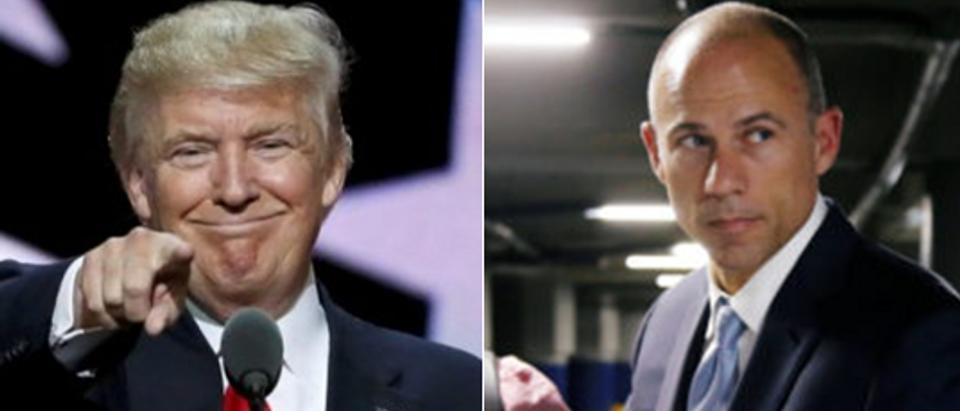 Trump REUTERS Rick Wilking Avenatti REUTERS Luis Echeverria