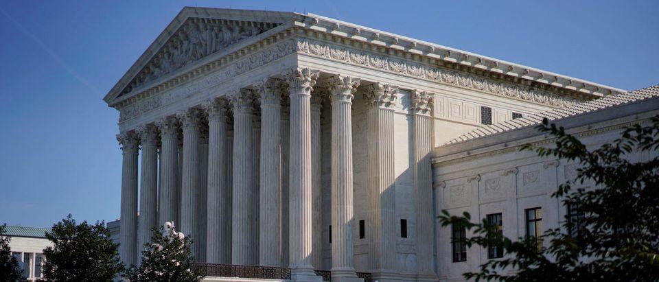 The Supreme Court is seen ahead of the start of it's new term in Washington, U.S., October 1, 2018. REUTERS/Aaron P. Bernstein