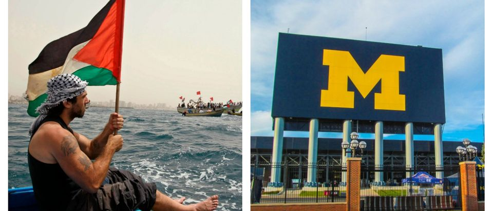 A professor was punished by the University of Michigan for refusing to write a letter of recommendation for a student wanting to study in Israel.