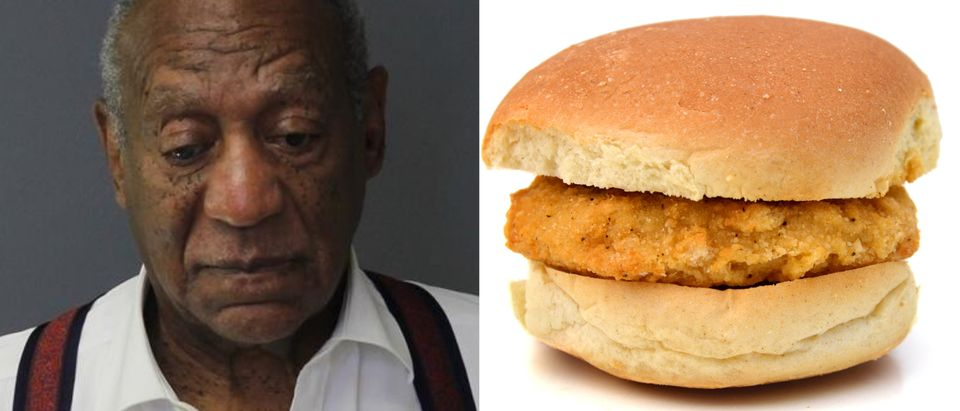 REPORT: Bill Cosby Was Not, In Fact, Slapped In The Face With A Chicken Patty, Getty Images/ Shutterstock