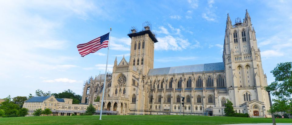 Pictured is Washington National Cathedral. (Shutterstock/ Orhan Cam)