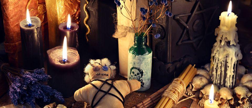 Witchcraft Charms (Shutterstock/ Vera Petruk)
