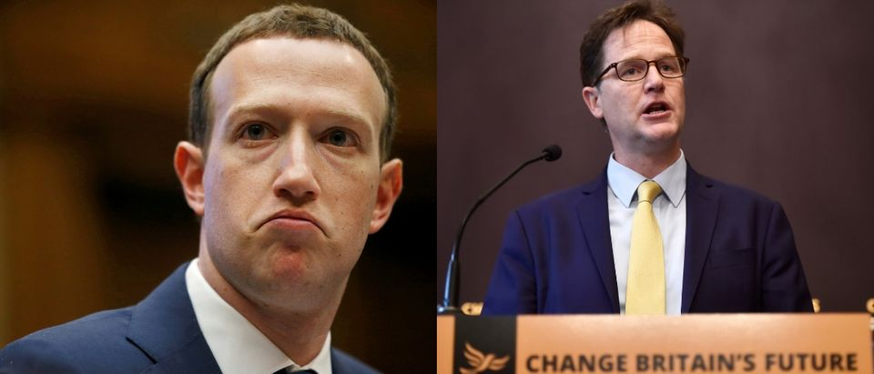 Zuckerberg and Clegg