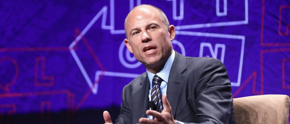 Michael Avenatti speaks onstage during Politicon 2018 at Los Angeles Convention Center on October 20, 2018 in Los Angeles, California. (Photo by Rich Polk/Getty Images for Politicon)