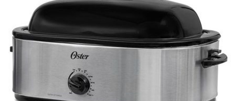 Normally $70, this roaster oven is 40 percent off (Photo via Walmart)