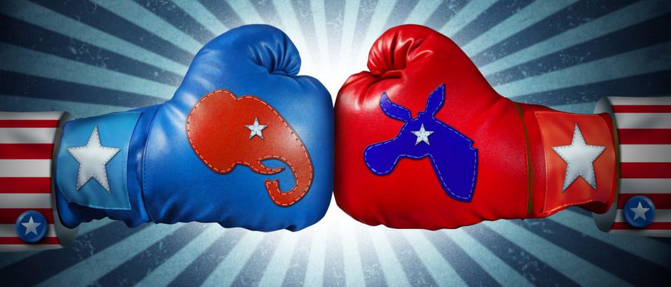 Republicans and Democrats will face off in November. Shutterstock image via user Lightspring