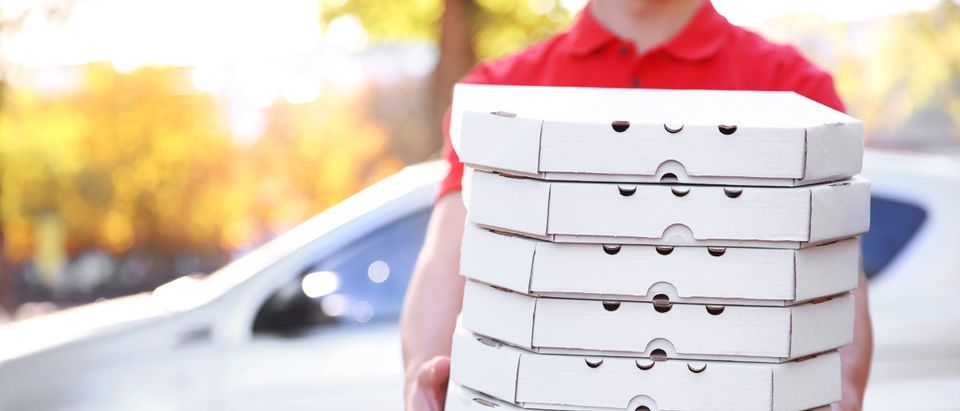 Pizza Delivery (Shutterstock)