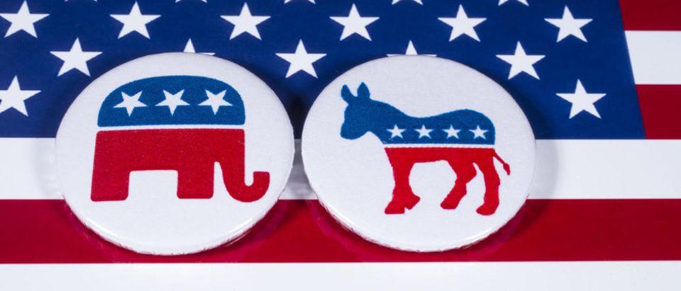 Republican/Democrat Party Logo shutterstock_786501277