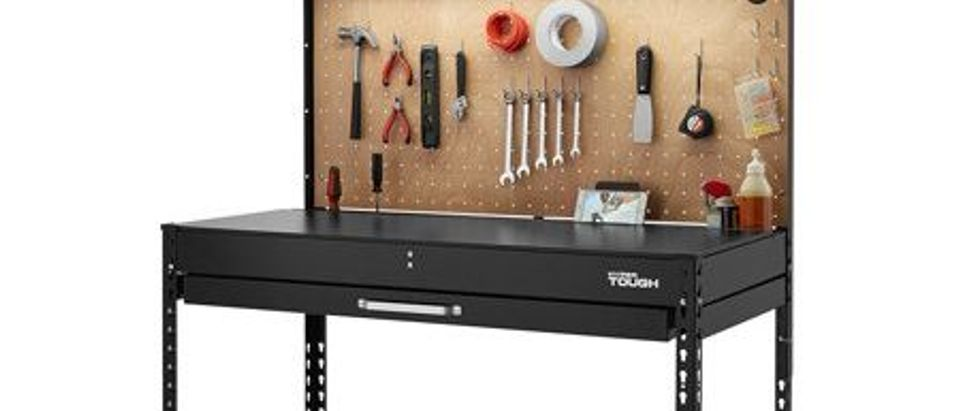 Normally $130, this workbench is 62 percent off (Photo via Walmart)
