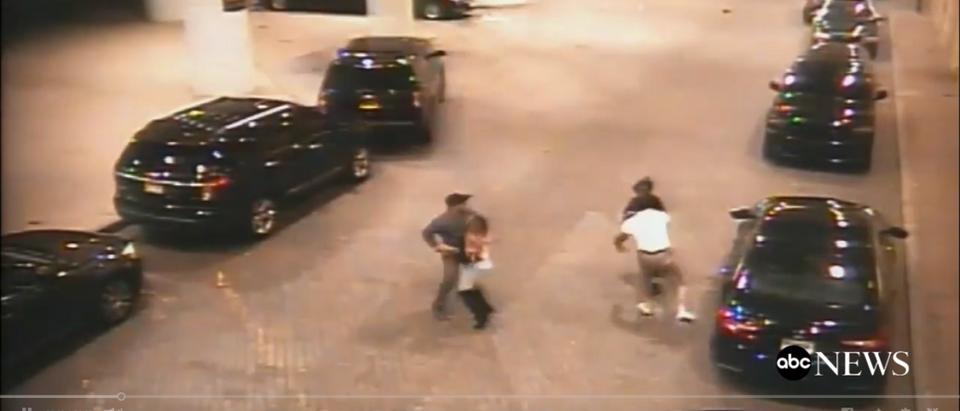 Atlantic City Mayor Caught On Surveillance Camera Brawling With Local Councilman -- ABC News 11-29-18 (Screenshot/ABC News )