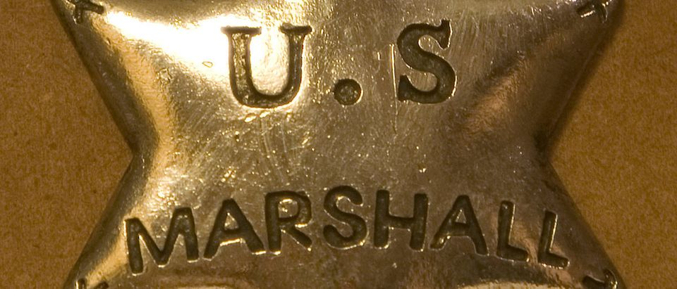Badge for a US Marshall -- By Steve Adamson - ShutterStock