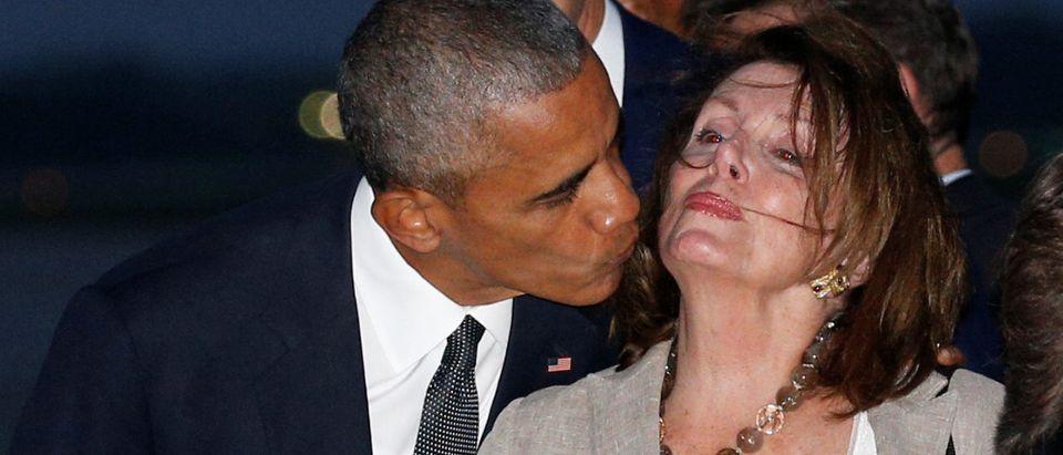 Obama and Pelosi arrive in Washington