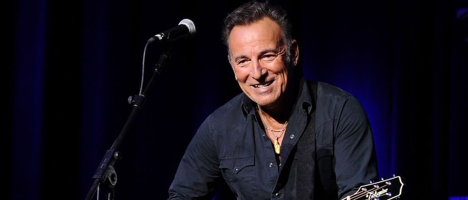Bruce Springsteen attends the New York Comedy Festival and the Bob Woodruff Foundation's 9th Annual Stand Up For Heroes Event on November 10, 2015 in New York City. (Photo: Getty Images)