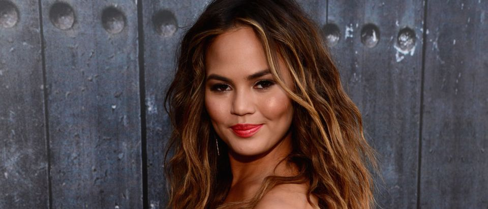"""Model Chrissy Teigen attends Spike TV's """"Guys Choice 2014"""" at Sony Pictures Studios on June 7, 2014 in Culver City, California. (Photo by Frazer Harrison/Getty Images for Spike TV)"""
