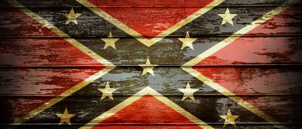 Pictured is the Confederate flag. (Shutterstock/STILLFX)