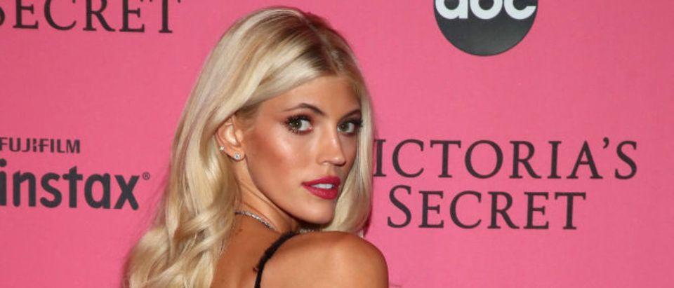 Devon Windsor attend the 2018 Victoria's Secret Fashion Show After Party on November 8, 2018 in New York City. (Photo by Astrid Stawiarz/Getty Images for Victoria's Secret)