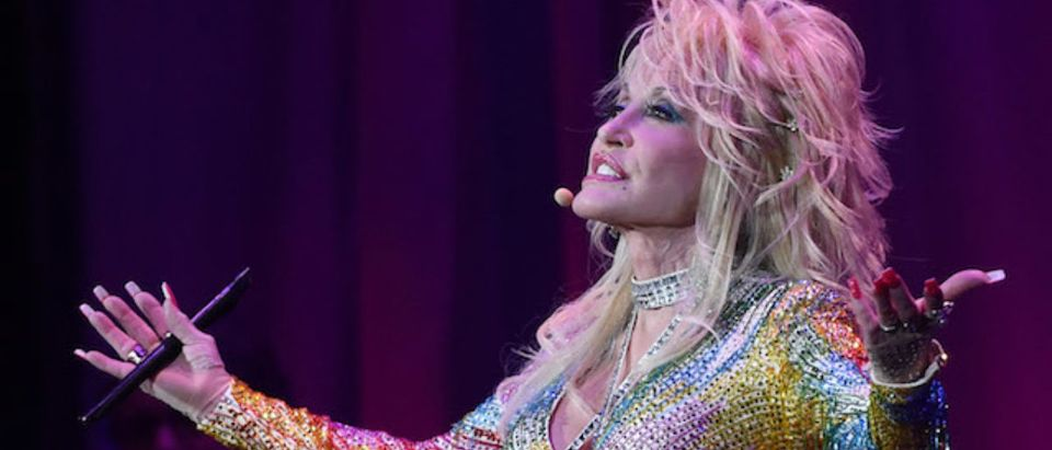 Dolly Parton: Pure & Simple Benefiting The Opry Trust Fund at Ryman Auditorium on August 1, 2015 in Nashville, Tennessee. (Photo by Rick Diamond/Getty Images)