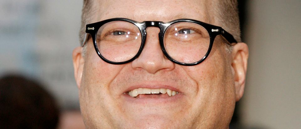 Comedian Drew Carey poses as he arrives at an 80th birthday salute to political satirist Mort Sahl featuring top name comedians in Los Angeles, California, June 28, 2007. REUTERS/Fred Prouser