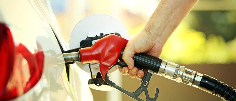 Gas Pump. Shutterstock