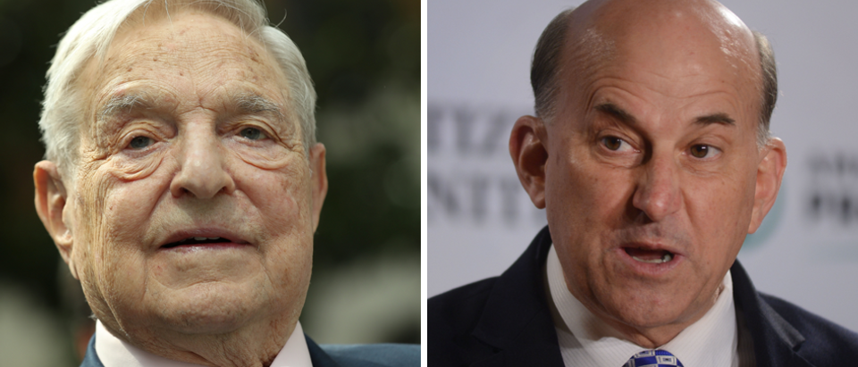 George Soros (left) and Rep Louie Gohmert (right) Getty Images
