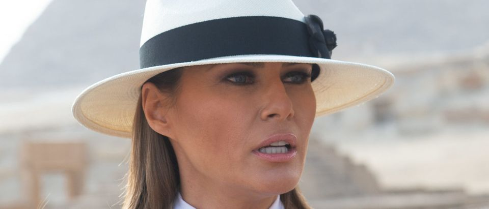 EGYPT-US-DIPLOMACY-MELANIA