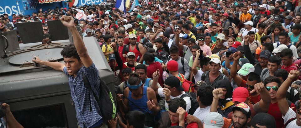 Migrant Caravan Crosses Into Mexico From Guatemala