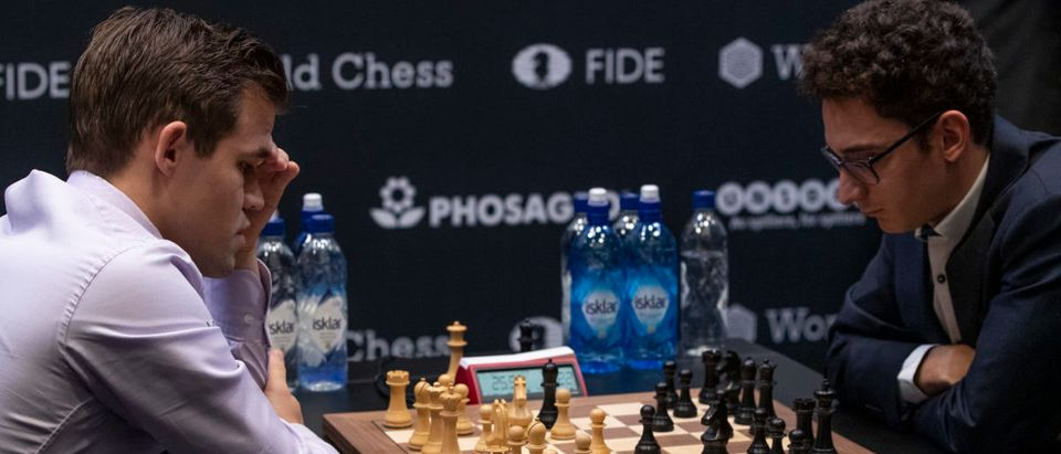 Carlsen And Caruana Set For Quickfire World Chess Final