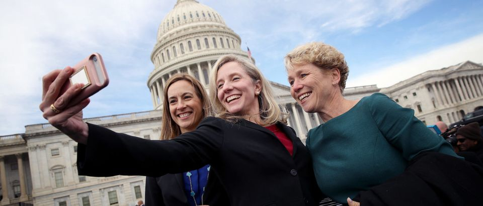 House Representatives-Elect Pose For Group Photo In Front Of U.S. Capitol