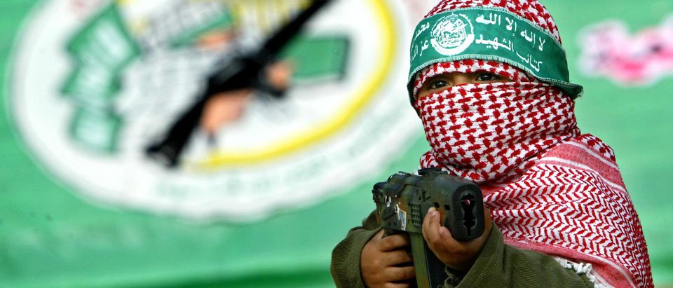 Hamas Holds Rally To Commemorate Death Of Military Leader