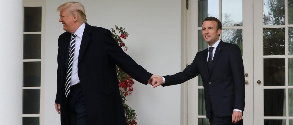 TOPSHOT-US-FRANCE-POLITICS-DIPLOMACY